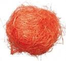 Dekorační sisal oranžový