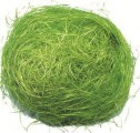 Dekorační sisal zelený