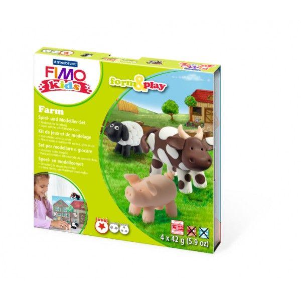 FIMO KIDS - dárková sada Farma (Farm) Staedtler