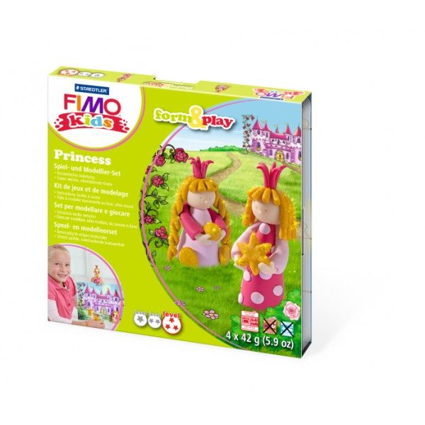 FIMO KIDS - dárková sada Princezny (Princess)
