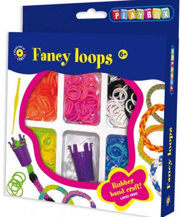 Loops - vytvořte si náramky z kroužků PLAYBOX
