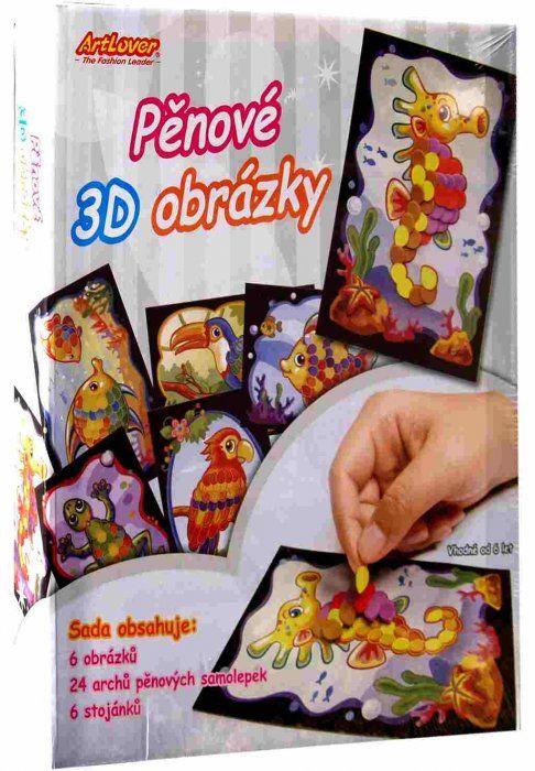 Pěnové 3D obrázky ArtLover