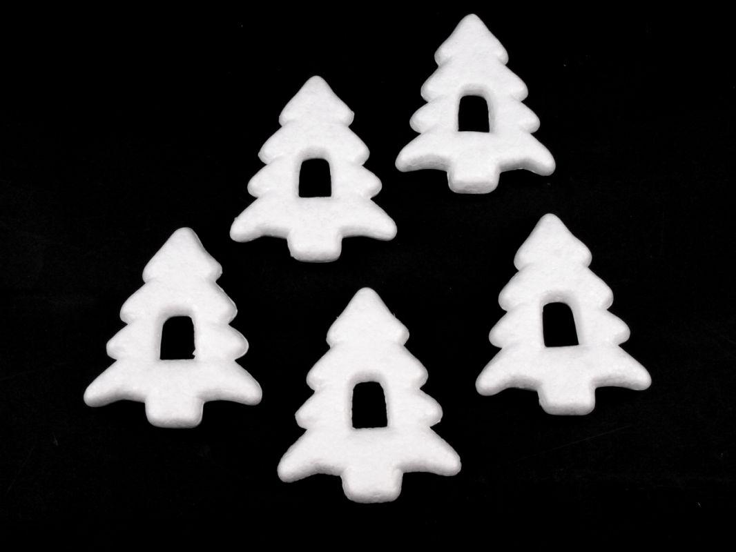 Polystyrenové stromky 7x9 cm - balení 5ks ostatní