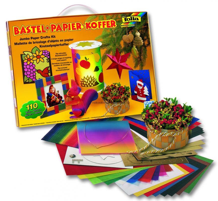 Vánoční a podzimní kreativní sada - kufr 110 dílů Folia