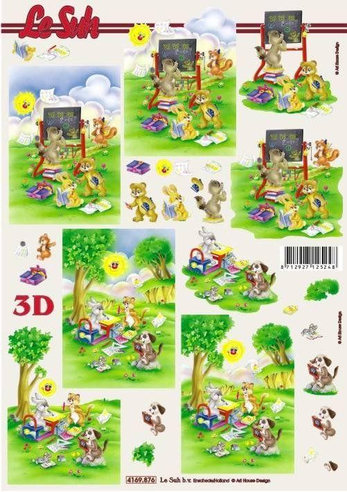 Veselé malování - 3D papír Le Suh