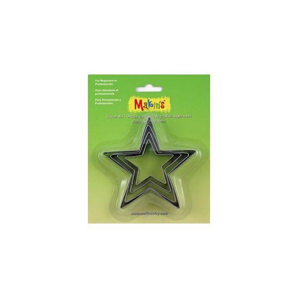 Vykrajovátka MAXI hvězda Makin's