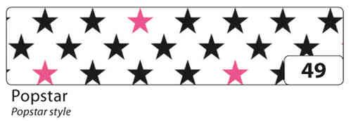 Washi Tape - dekorační lepicí páska - 10 m x 15 mm - Popstar Folia
