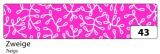 Washi Tape - dekorační lepicí páska - 10 m x 15 mm - větev