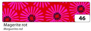 Washi Tape - dekorační lepicí páska - 10mx15mm -červená kopretina Folia