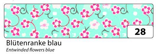 Washi Tape - dekorační lepicí páska - 10mx15mm květy Folia