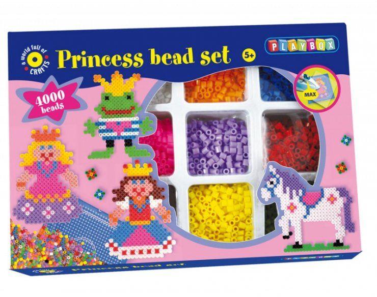 Zažehlovací korálky 4000 ks - Princezny SMTCreatoys
