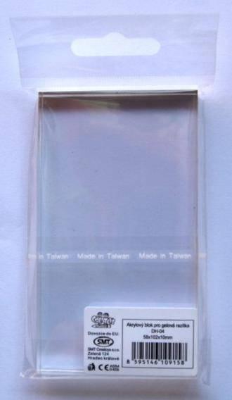 Akrylový blok pro gelové razítko ostatní