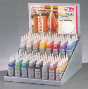 Barva na svíčky a na voskové pláty 50ml Efco