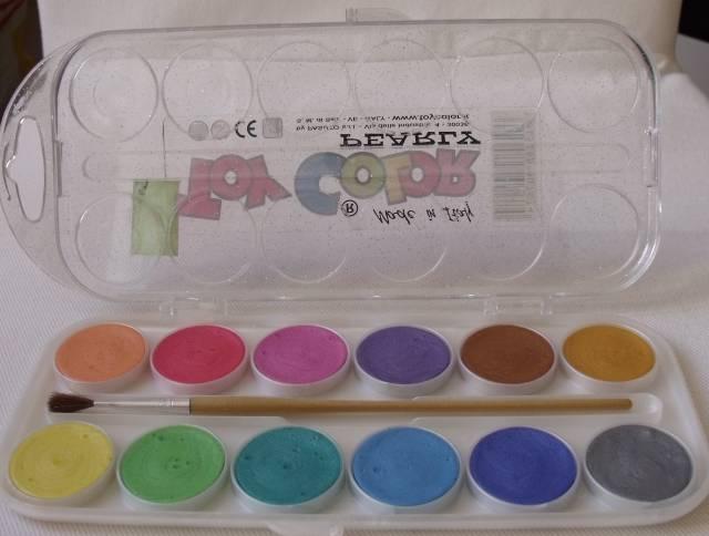 Vodové barvy - perleťový efekt ostatní
