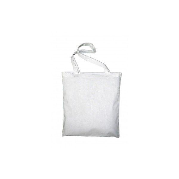Bavlněná taška 38x42 cm bílá ostatní