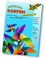 Duhový karton - oboustranný - 200 g/m2 - 22 x 32 cm, 10 listů