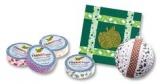 Fabric Tape - dekorační lepicí látková páska - 4m x 15mm bavlna hnědá Folia