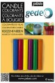 Gédéo Barvy na svíčky - 6 barev