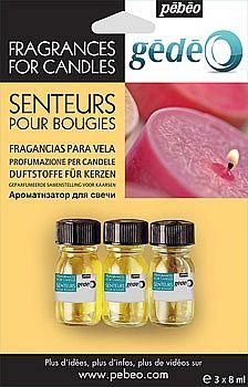 Gédéo Vonné oleje na svíčky - 3 druhy