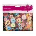 Knoflíky mix (250g) Jasné barvy