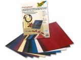 Kreativní karton 230g motiv hadí kůže 10 archů 23 x 33 cm v 10ti barvách