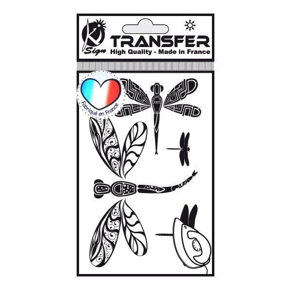 Samolepka na textil zažehlovací obrázek VÁŽKY Ki-Sign
