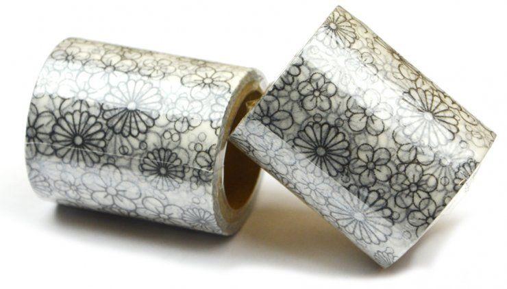 Coloring Washi Tape - Antistresová omalovánka - dekorační lepící páska ostatní