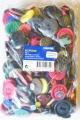 Barevné knoflíky 500g - mix barev a velikostí