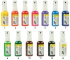 Barvy na textil ve spreji, na světlé materiály, základní odstíny 50g