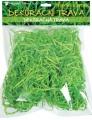 Dekorační tráva dřevěná zelená 50g
