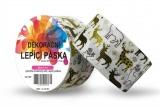 Duct Tape - dekorační lepicí páska - 5m x 48mm - ZLATÍ SOBI