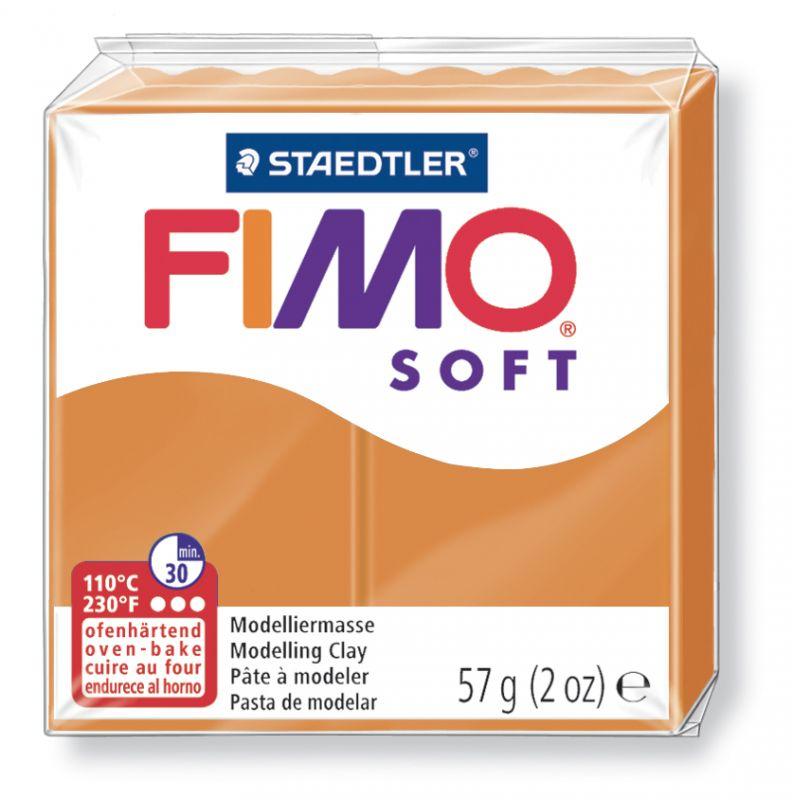 Fimo Soft Polymerová hmota 56g / fimo 57 g - trend sluneční oranžová 41 Staedtler