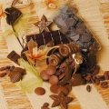 Forma na čokoládu - Mořské plody