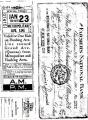 Gelová razítka - Special ticket 15x20cm