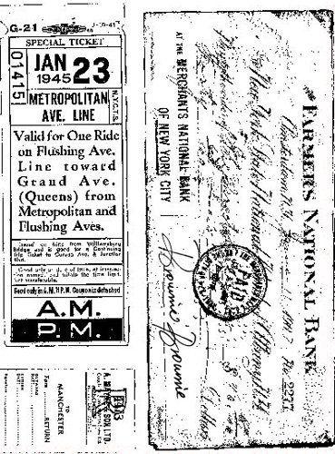 Gelová razítka - Special ticket 15x20cm ostatní