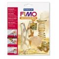Kovové pláty FIMO- abalone 7 ks