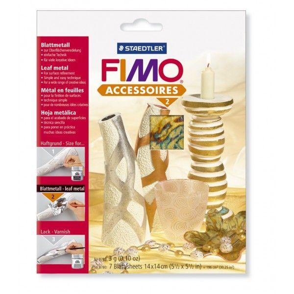 Kovové pláty FIMO- abalone 7 ks Staedtler