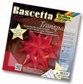 Origami hvězda Bascetta 30 listů 20x20 cm - červená