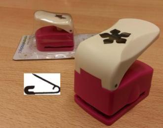 Razidlo (děrovačka, raznice) Zavírací špendlík 25 mm ostatní