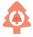 Raznice - stromek embosovací 45mm