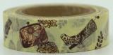 Washi Tape - dekorační lepicí páska - 10mx15mm - DÁMSKÉ BOTY