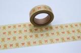 Washi Tape - dekorační lepicí páska - 10mx15mm - MEDVÍDCI ostatní