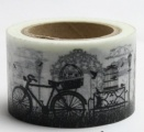 Washi Tape - dekorační lepicí páska - 10mx30mm - KOLA