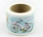 Washi Tape - dekorační lepicí páska - 10mx38mm - BALÓN, KOLO