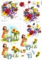 Zahradnice - 3D papír