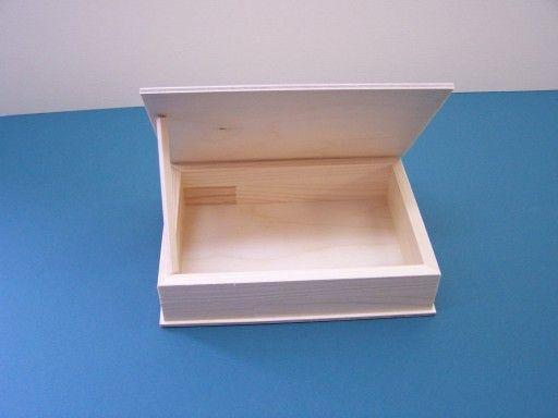 Krabička dřevěná 14x8x3,8cm