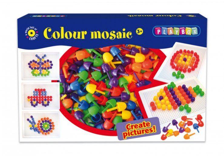 Barevná mozaika - sada PLAYBOX