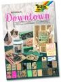 Blok s motivem Downtown  270 g/m2, 20 listů
