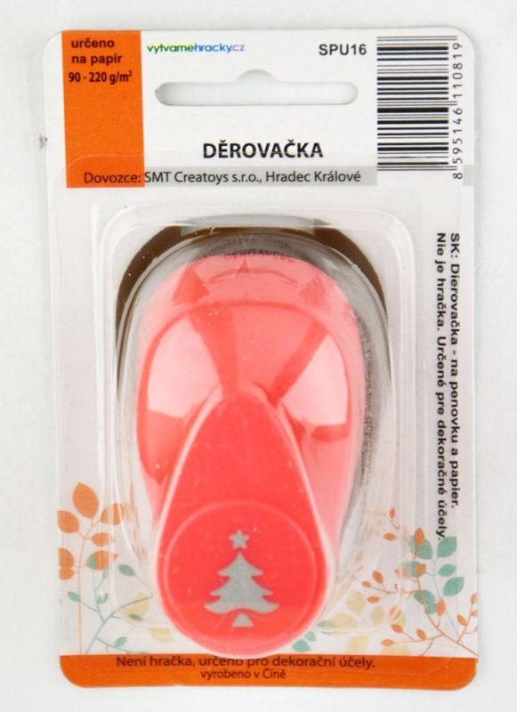 Děrovačka (razidlo, raznice) 16 mm - Vánoční strom s hvězdou ostatní