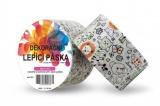 Duct Tape - dekorační lepicí páska - 5m x 48mm - DĚTSKÉ BAREVNÉ